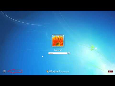 2018 How to hack or reset windows 7 password without any software or installation boot media