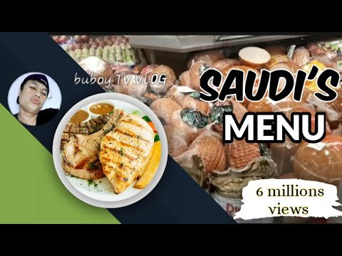 The Saudi's all ingredients for their menu's