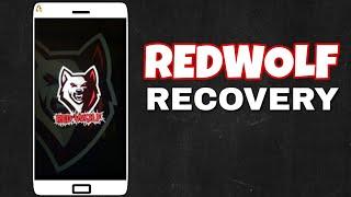 Redwolf custom recovery
