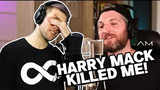 HARRY MACK FREESTYLED FOR ME?! | Harry Mack's Happy Hour ft. ME! (Rapper Reacts)