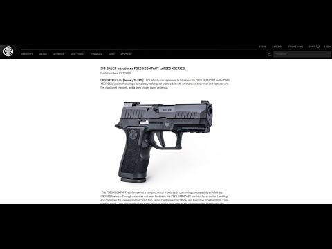 New Products from SIG Sauer: Gun Talk Radio | 1.20.19 C