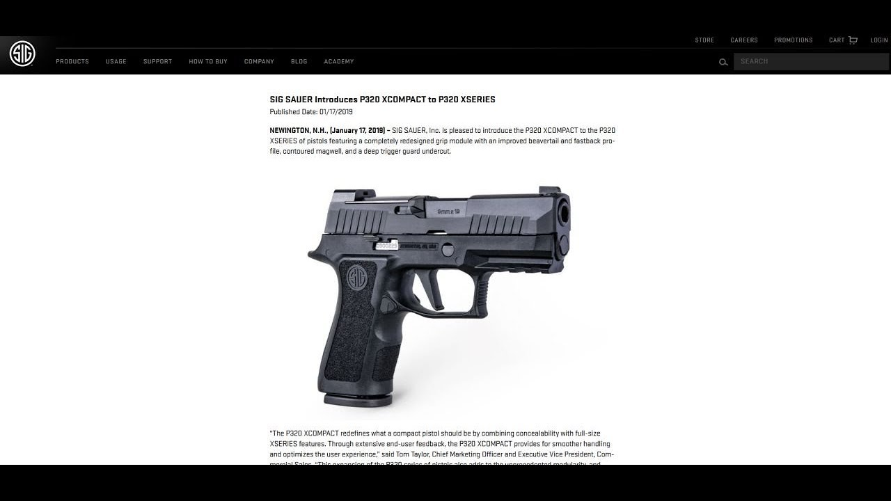 New Products from SIG Sauer: Gun Talk Radio | 1 20 19 C