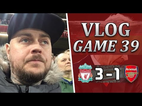 Liverpool 3 v 1 Arsenal | Another Sh*t Performance | Matchday Vlog | Game 39