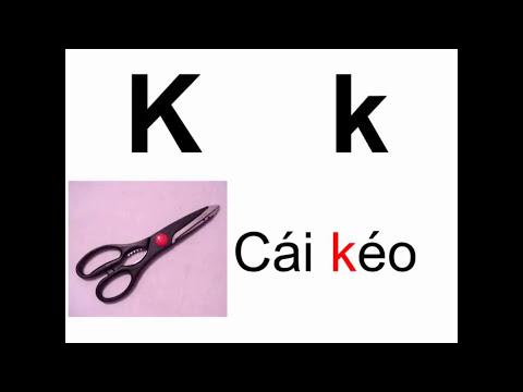 Dạy trẻ học và đọc bảng chữ cái Tiếng Việt