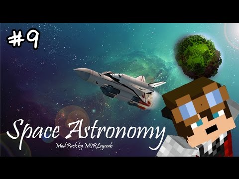 Minecraft Hardcore - Space Astronomy - 009 - Building Living