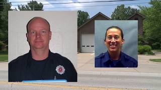 Akron firefighters on paid leave