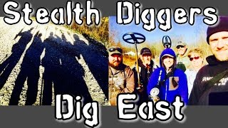 #139 Dig East - NH metal detecting a 1700's farm - ATGOLD XP DEUS GOLDBUG PRO