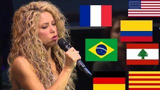 Shakira Singing in 8 Different Languages