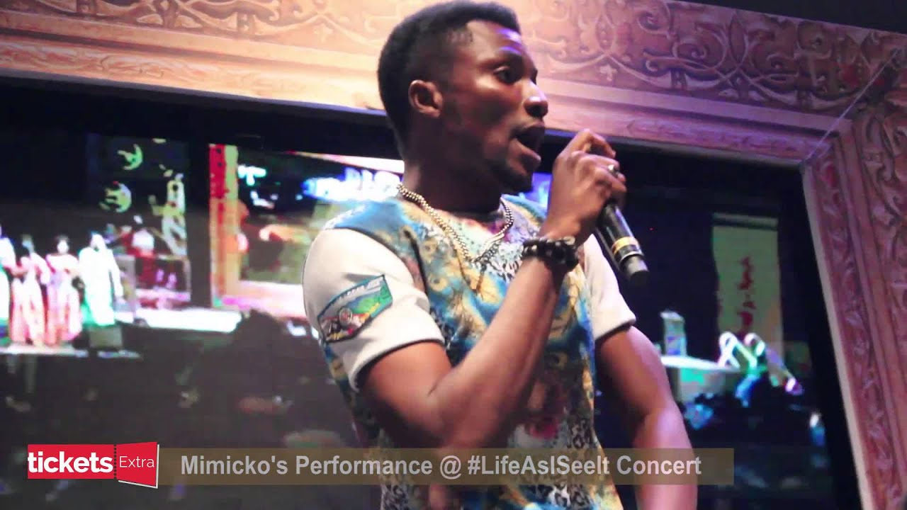 Download MIMICKO'S HOT PERFORMANCE AT JULIUS AGWU'S LIFE AS I SEE IT CONCERT
