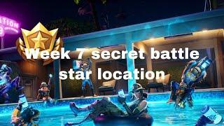 Fortnite (summer slurp challenges ) secret battle star