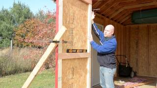 Shed Build 15 - Doors Part 2