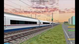 OpenBVE HD EXCLUSIVE: Siemens Velaro RUS Sapsan Record Test Speed Fly By (290 km/h, 180 mph)