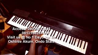 Download Video How to play piano to Onise Iyanu by Nathaniel Bassey MP3 3GP MP4