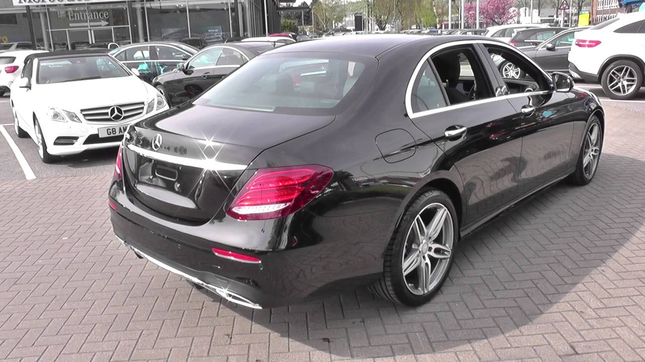 mercedes benz e class saloon 2016 e 220 d amg line u25108. Black Bedroom Furniture Sets. Home Design Ideas