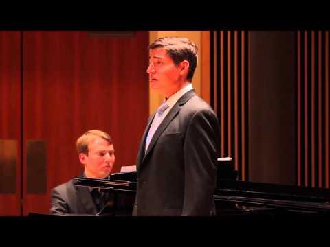 The Wild Flower's Song (from  Three Songs of William Blake) - Joseph Regan, tenor - May 2013