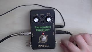 Circuit Bending: Artec Parametric EQ