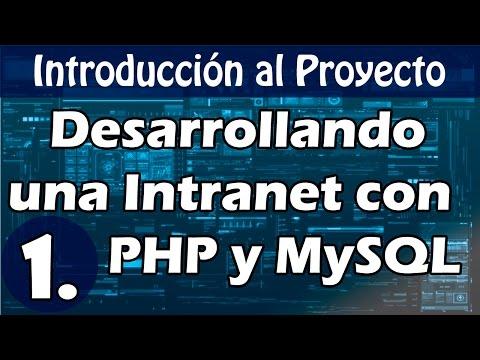 Desarrolla un sistema web usando PHP y MySQL