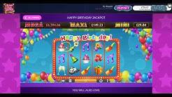 Happy Birthday Jackpot Slot Game on Wizardslots.com