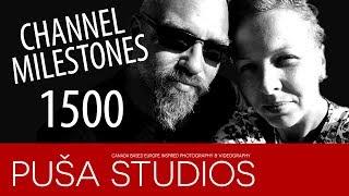 YouTube Milestones - 1500 subscribers | Puša Studios Special