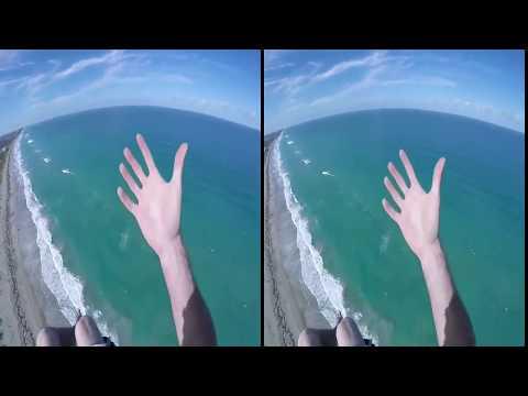 VR Flyin.  3D VR полет.  Крутое видео для 3D VR очков