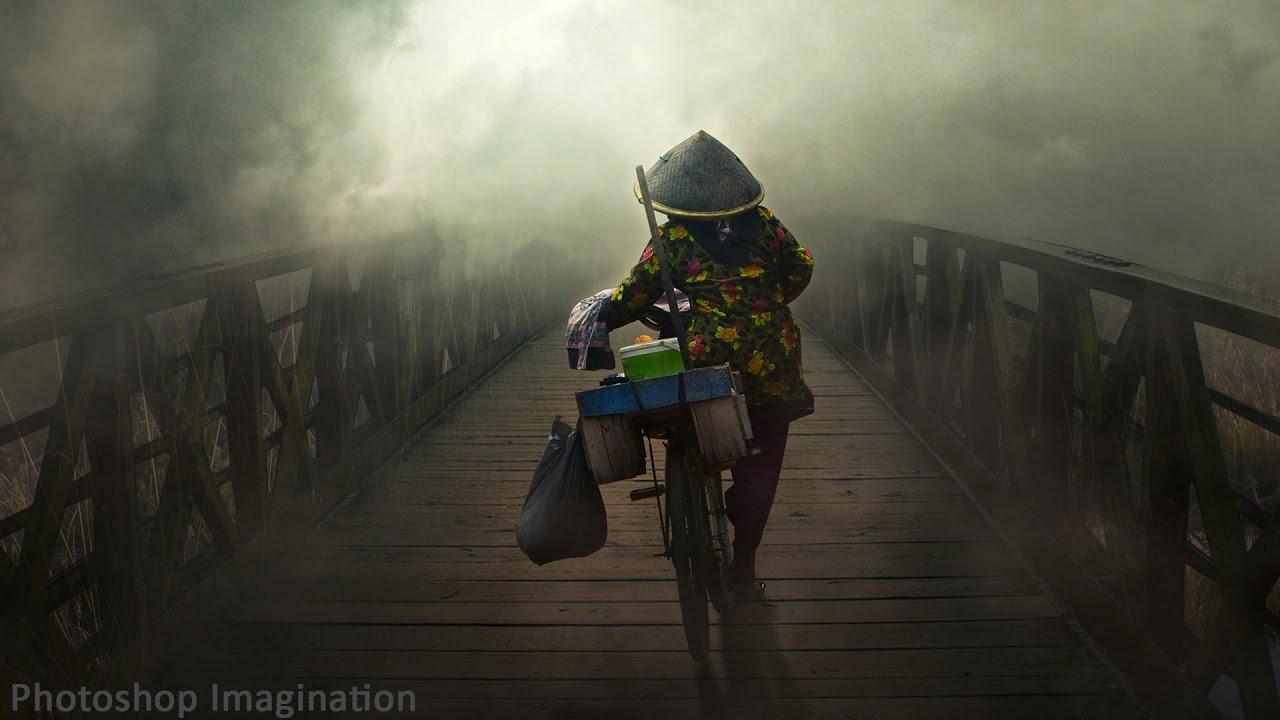 Into The Fog Photoshop Manipulation Tutorial