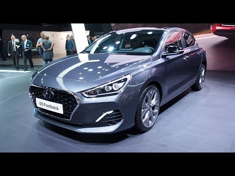 The ALL NEW Hyundai i30 Fastback 2018 In detail review walkaround Interior Exterior
