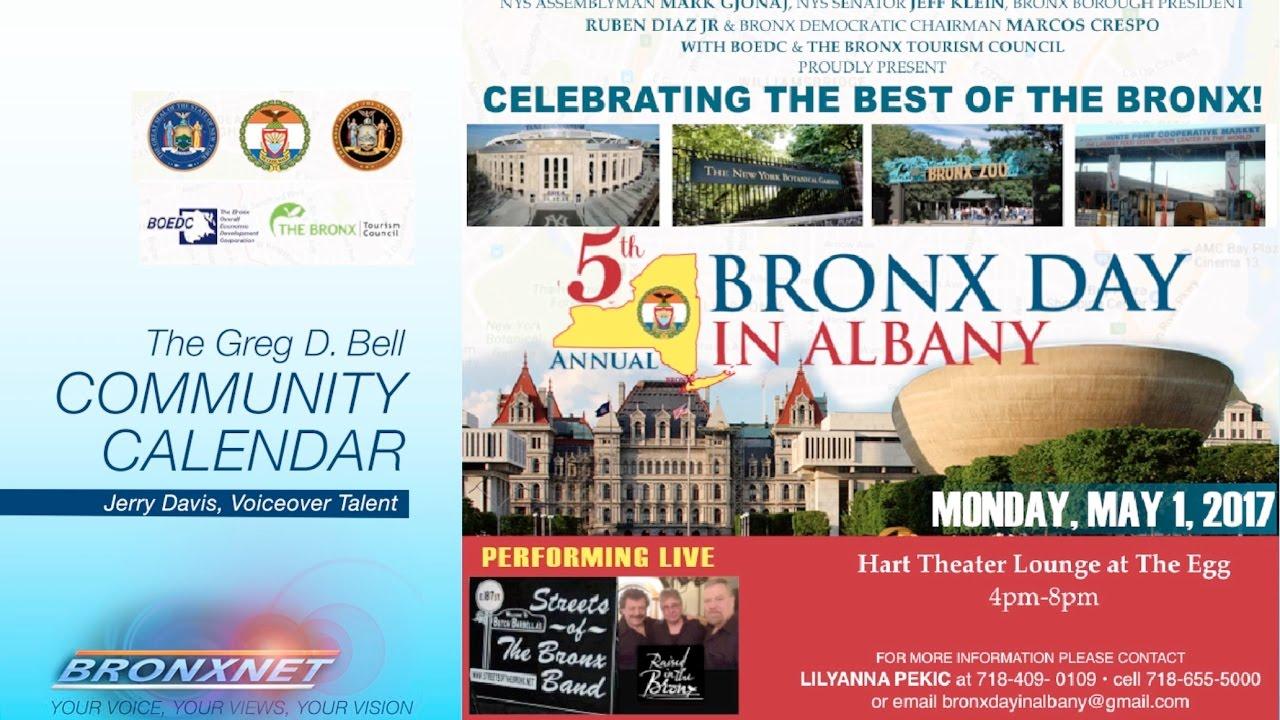 Community Calendar | April 25 - 30, 2017