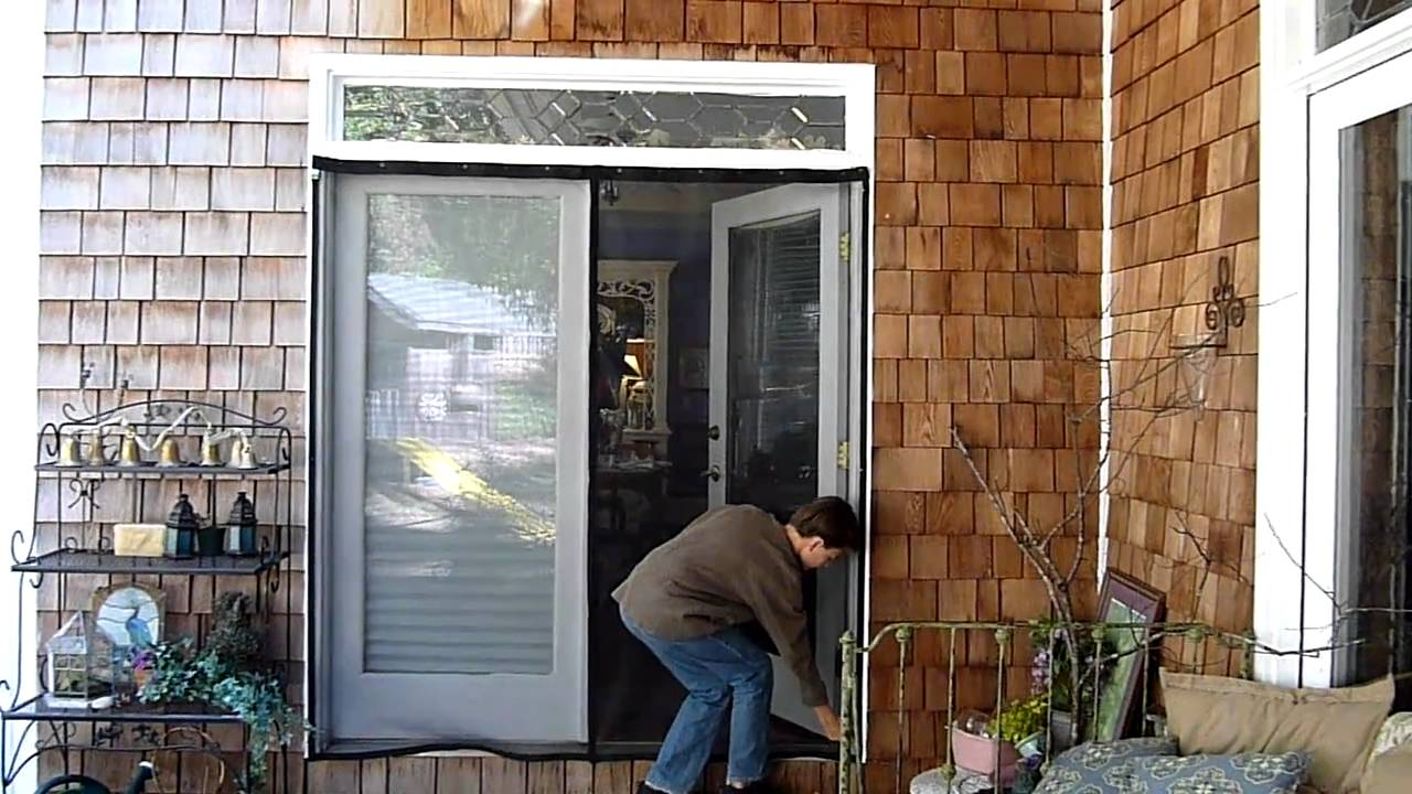 French Door Screen Youtube
