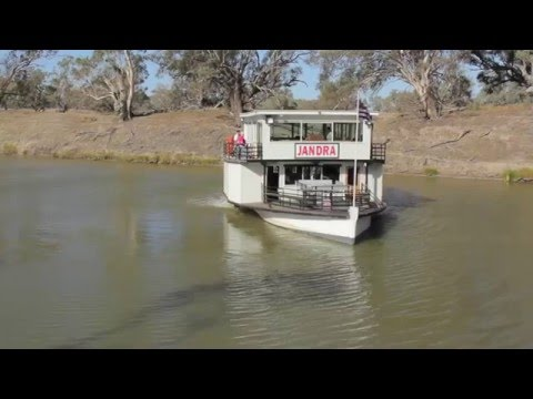 PV Jandra - Paddle Boat - Darling River - Bourke NSW - Australia