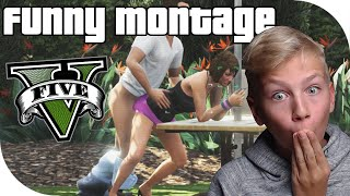 GTA V SUPER FUNNY MOMENTS MONTAGE!