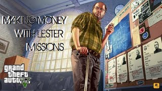 Grand Theft Auto 5 | Lester Mission : Bus Assassination | Stock Market Money Making Tips