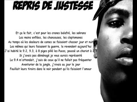 Rohff - Repris De Justesse (Paroles) (Le Code De L Horreur)