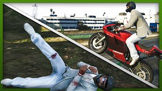 GTA 5 Stunts: Stunt & Fails Compilation! (Funny Moments)