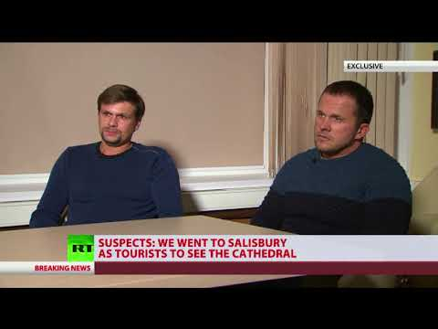 Suspects: We went to Salisbury as tourists to see the cathedral