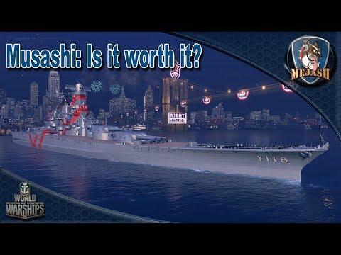 Musashi: Is it worth it? Free XP ship breakdown