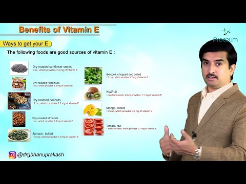 The Benefits of Vitamin E Information for General Public