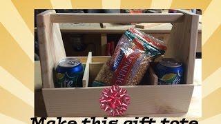 Gift Tote Tool Box
