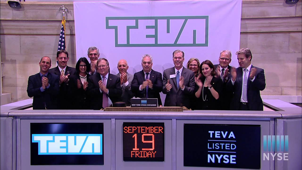 88ad5fc91 TEVA Pharmaceutical Industries Limited Visits the NYSE - YouTube