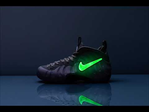 Nike Air Foamposite Pro All-Star Quickstrike: Custom Swoosh