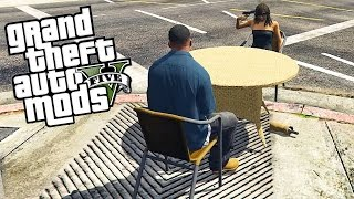GTA 5 Mods - RUSSIAN ROULETTE! (Grand Theft Auto 5 PC Mods Funny Moments)