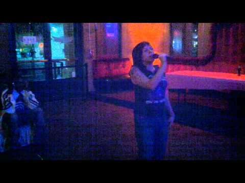 Tina qualified for our $500 karoake final at wasted Velvet Night Club