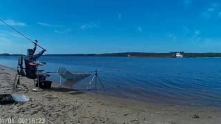 Рыбалка на Волге близ Калязина в мае 2016.(Рыбачим на Волге. Клев на троечку. Настроение на высоте и зашкаливает., 2016-06-03T12:27:51.000Z)