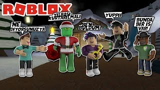 WE SAVED CHRISTMAS BUT was TOO HARD/Roblox Grinch Roleplay/Roblox Turkish