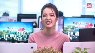 MC Thụy Vân xem lại lần đầu mình dẫn Chuyển Động 24h | VTV24