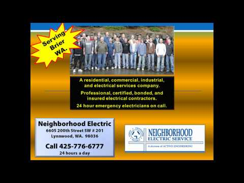 Electrician In Brier WA 98036 | 425-776-6777 | Commercial Residential Electrical Contractor Brier WA