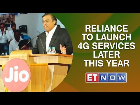Reliance Jio will launch 4G services later this year: Mukesh Ambani