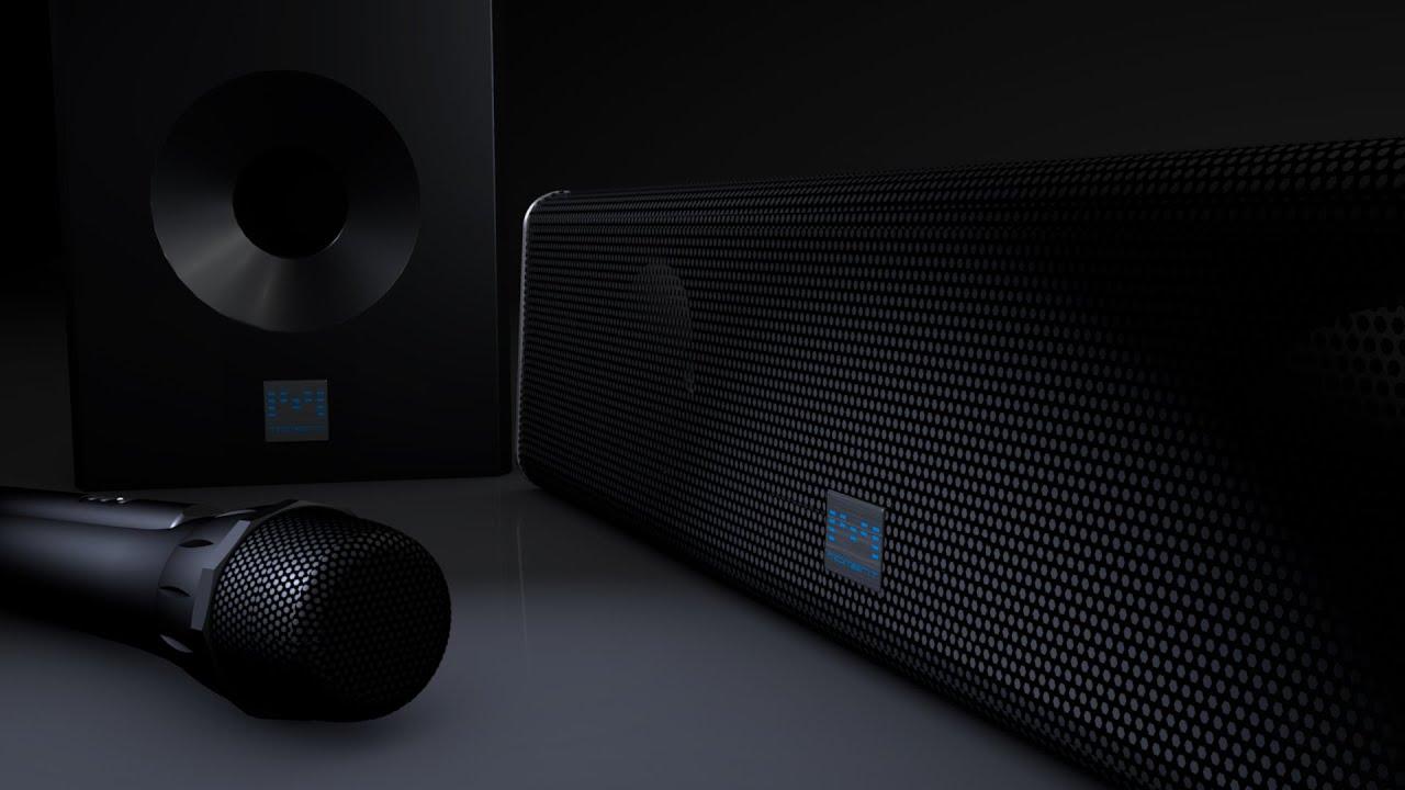 Moment - Wireless karaoke soundbar | Indiegogo
