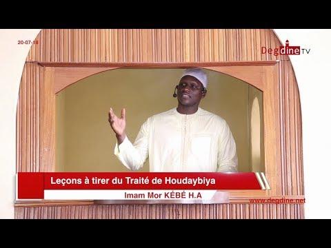 Khoutbah du 20-07-18 | Leçons à tirer du Traité de Houdaybiya | Imam Mor KÉBÉ H.A