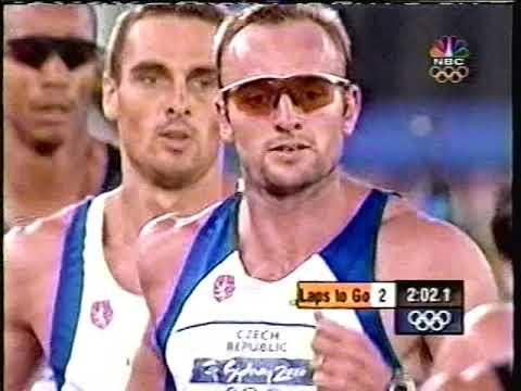 Decathlon 1500 Meters - 2000 Sydney Olympics Track & Field