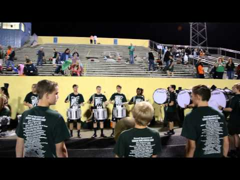 Mosley High School Drum line 2013